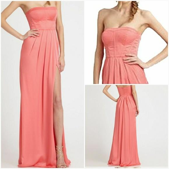 b1461e5d3cccc BCBGMaxAzria Dresses & Skirts - BCBG | Formal Coral Pink Dress [Dresses]